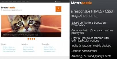 Metrotastic - Responsive Magazine Theme