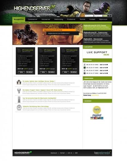 Hosting Design - Green