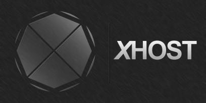 X HOST LOGOTYPE