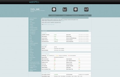 Webspell Admincenter Template