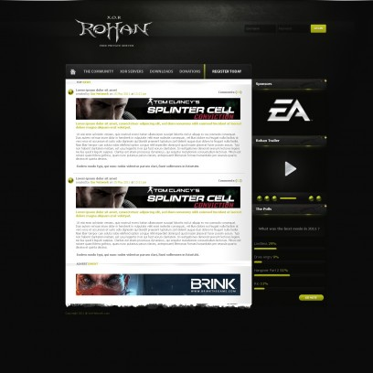 XOR Gaming Template