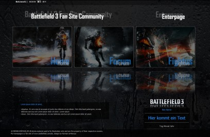 Battlefield 3 EnterPage
