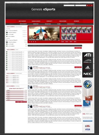 Genesis-Esports Gaming Design