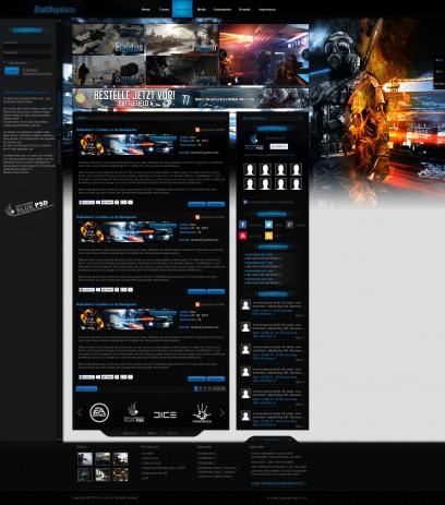 Battleplace Design in Battlefield 4 style