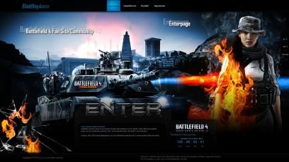 Battlefield 4 Battleplace Enterpage