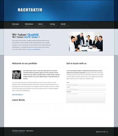 Simple Business Template