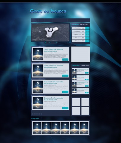 Blue Cyan Clan Design