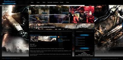 Call of Duty Advanced Warfare Battleplace Ilch Template