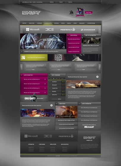 Shift Gaming Design