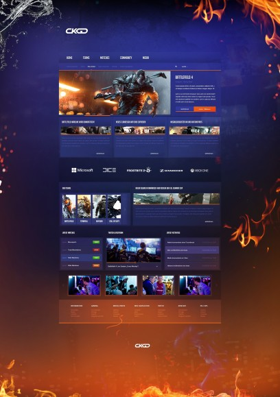 Battlefield Gaming Design