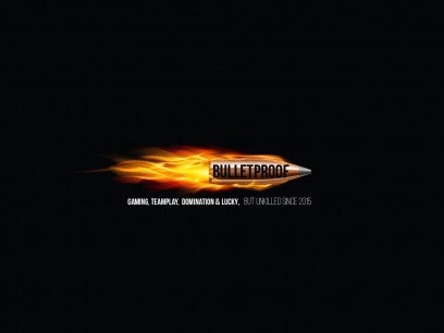 Bulletproof gaminglogo