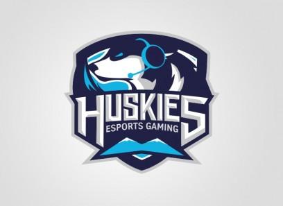 Huskies Clan Logo(Vektor)/Spielerrahmen/T-Shirt