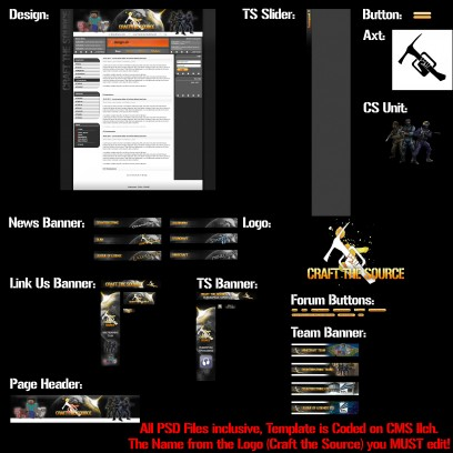 Full Ilch Clan Template with all PSD Files