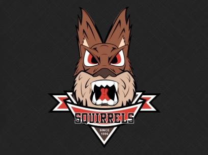 Aggressive Squirrel Logo